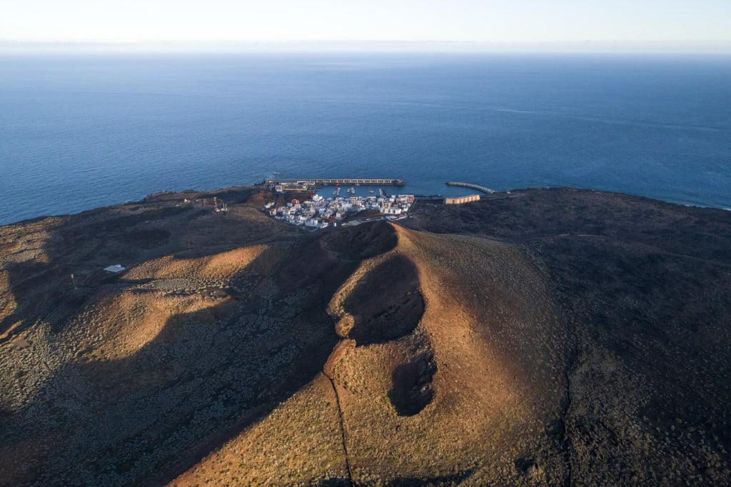 Blick auf La Restinga im Süden von El Hierro