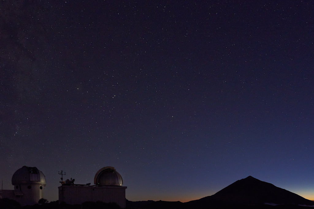 Observatorium im Teide Nationalpark