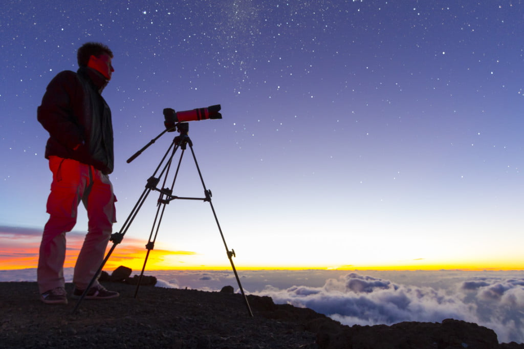 Sternbeobachtung auf den Kanaren